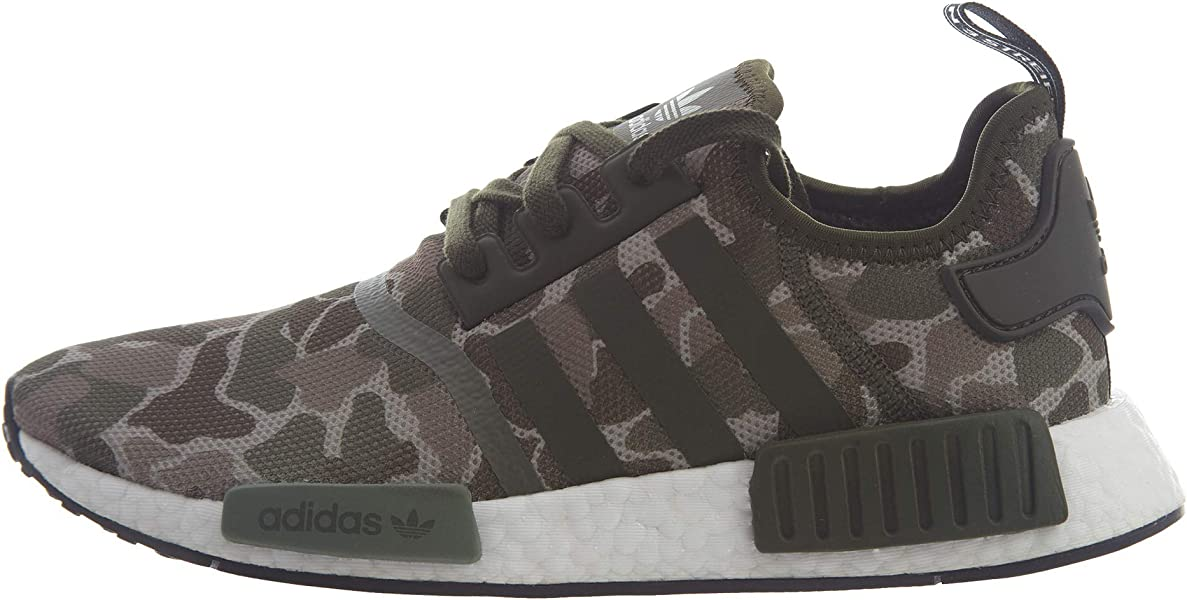 f5c621ef8467f adidas Originals NMD R1 Shoe - Men s Casual 7.5 Sesame Trace Cargo Base  Green