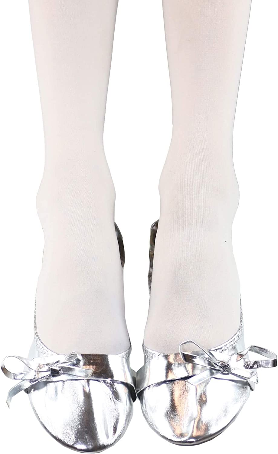 Danzcue Womens Soft Heel Belly Dance Practice Shoes with Bag