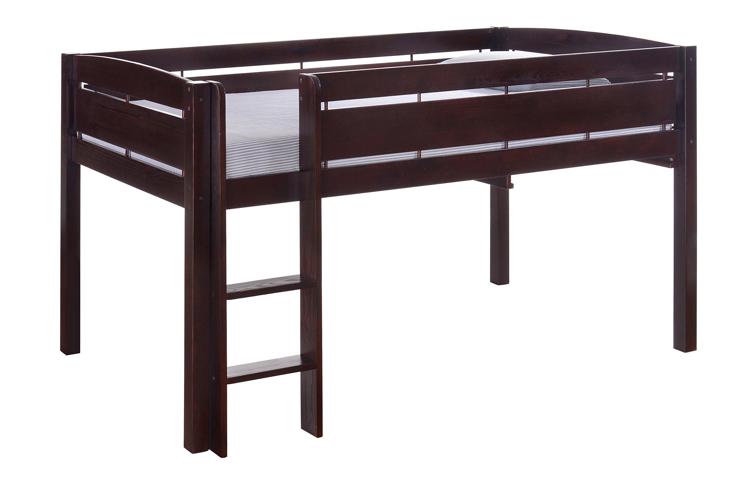 Canwood Whistler Junior Loft Bed, Espresso