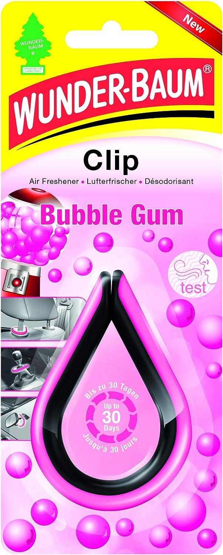 Wunder Baum Air Freshener 20269 Clip Bubble Gum Pink Black Auto