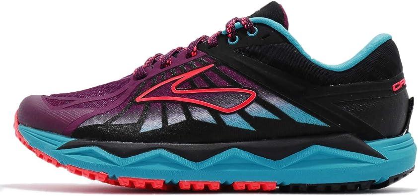 reunirse Petrificar Ganar  Amazon.com: Brooks caldera para mujer Trail zapatillas de running, 6.5:  Shoes