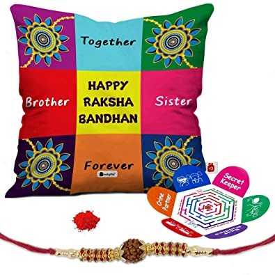 Indi ts Rakshabandhan Gifts for Brother Set of Happy