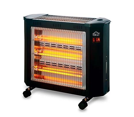 SA9624 Estufa Eléctrica DCG cuarzo 4 elementos humidificador 3 niveles temperatura. Media Wave Store®