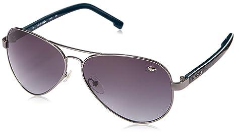 f4693f34ebd Lacoste Men s L163S Aviator Sunglasses