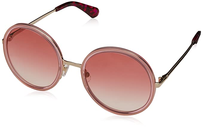 Amazon.com: Kate Ronda anteojos de sol LaMonica 0s45 Rosa ...