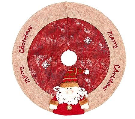 Yzakka - Falda para árbol de Navidad, diseño de Copo de Nieve ...