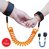Amazon Price History for:KUEN 2 Pack Safe Skin Friendly Anti Pricking Cotton Child Wrist Straps, Anti Lost Belt Toddler Safety Harness Kids Safety Leash Belts for Kids Runner Preschooler ( length up to 71 inches )