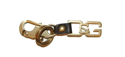 competitive price f1d55 ad89e Dolce & Gabbana D&G portachiavi oro: Amazon.it: Scarpe e borse