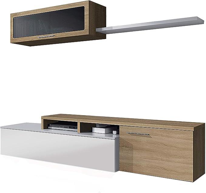 Habitdesign Mueble de Salon, Comedor, Mueble Moderno ...