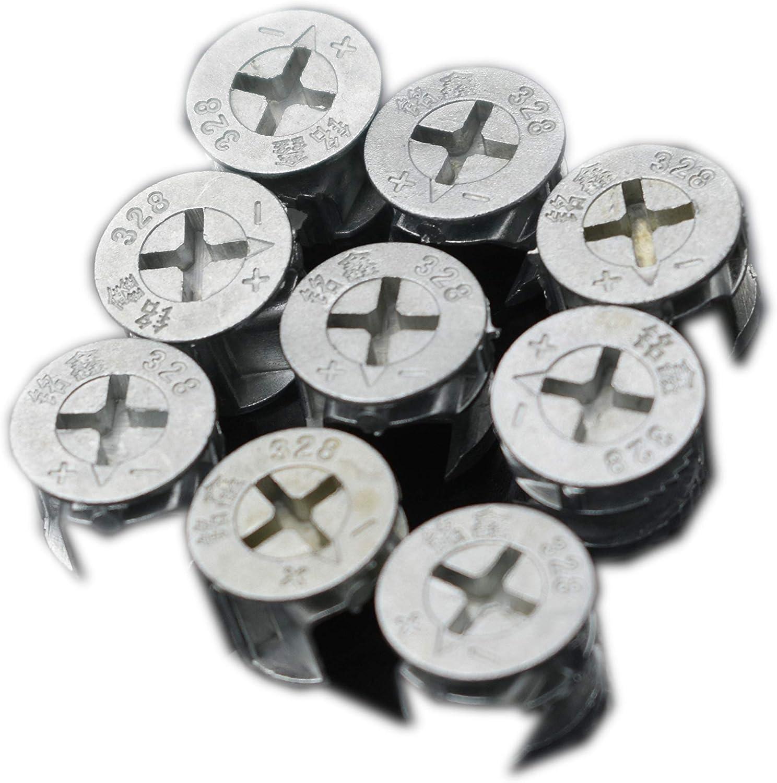 20 CAM LOCKS FURNITURE 13mm Fasteners Knockdown Repair