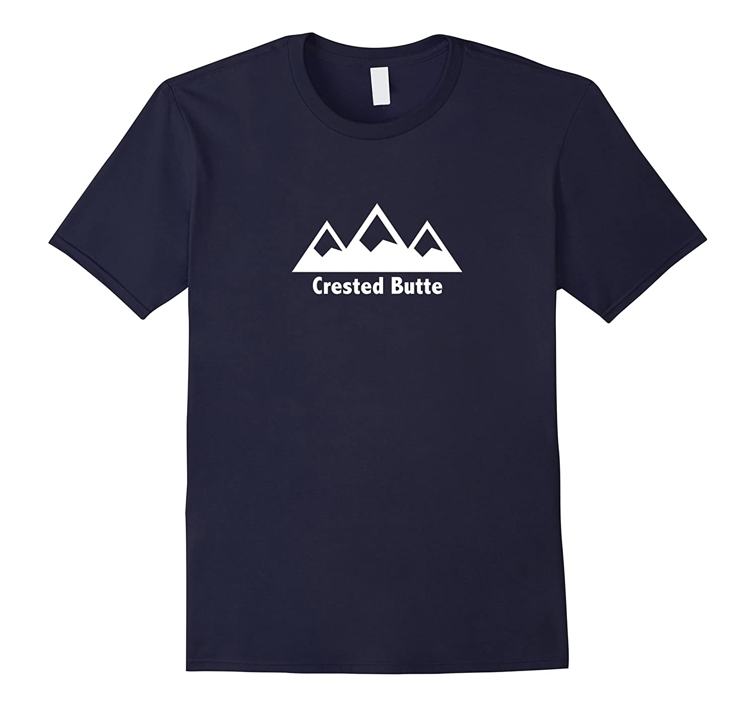 Three Peak Colorado - Crested Butte T Shirt-RT
