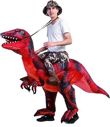 Amazon.com: COMIN.NET - Disfraz de dinosaurio inflable para ...