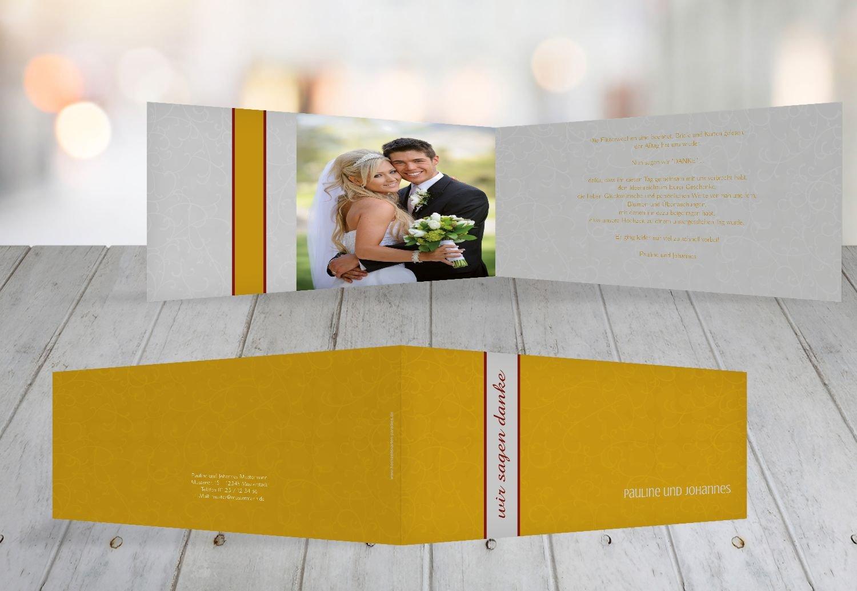 Kartenparadies Danksagung für Hochzeitsgeschenke Dankeskarte Für immer, hochwertige Danksagungskarte Hochzeitsglückwünsche inklusive Umschläge   20 Karten - (Format  215x105 mm) Farbe  MatschgruenDunkel B01NBXAMJR   Sale Outlet