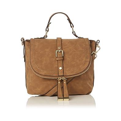 8deb4c148805 Oasis - Tan 'Steffi' satchel: Amazon.co.uk: Shoes & Bags