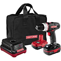 Craftsman 19.2 Volt Drill Driver with 2 Lithium-Ion Batteries + $14.99 Sears Credit