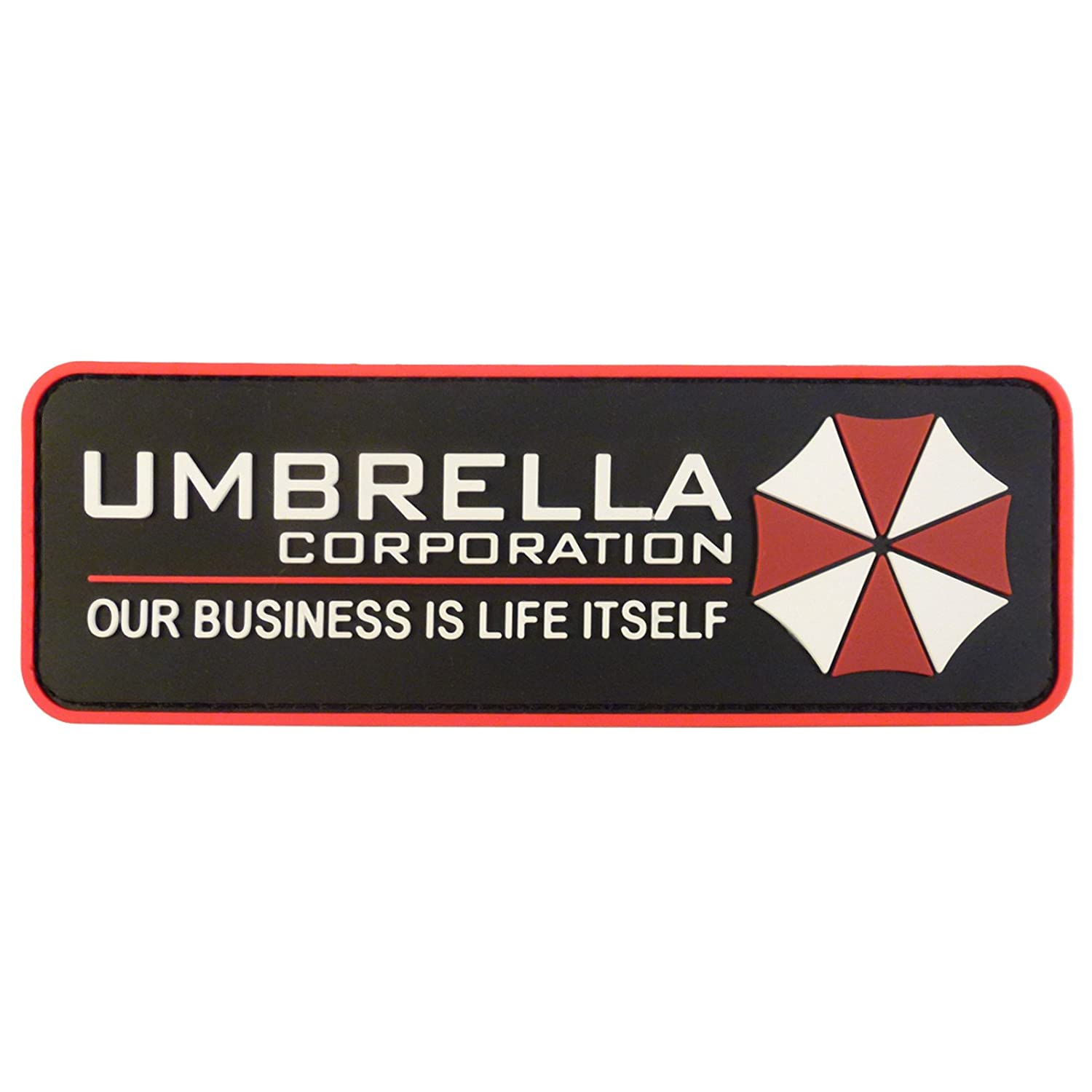 Umbrella Corporation Resident Evil Cosplay PVC Rubber 3D Hook-and-Loop Patch