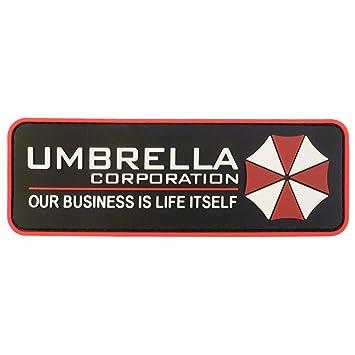 amazon com umbrella corporation resident evil cosplay pvc rubber