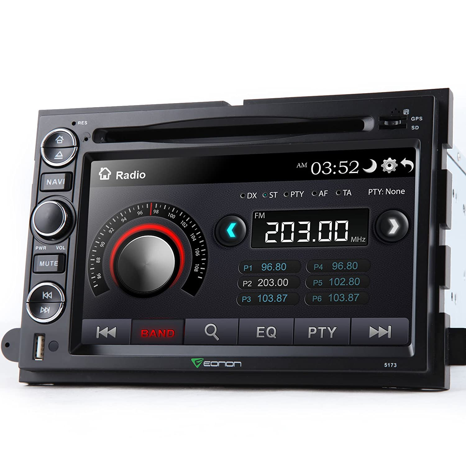 Eonon D5173z For Ford F 150 Hd Dual Mount Backup 2006 F150 Wiring Diagram Dimmer Camera 7 Touch Screen Dvd Gps Navigation Bluetooth Car Electronics