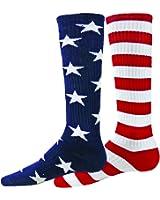 Red Lion Independence Mismatched Knee High Socks