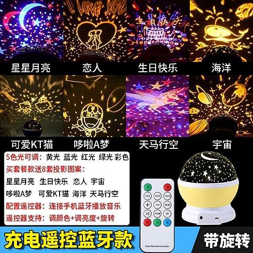 proyector bebe luz nocturna infantil,Proyector de estrellas ...