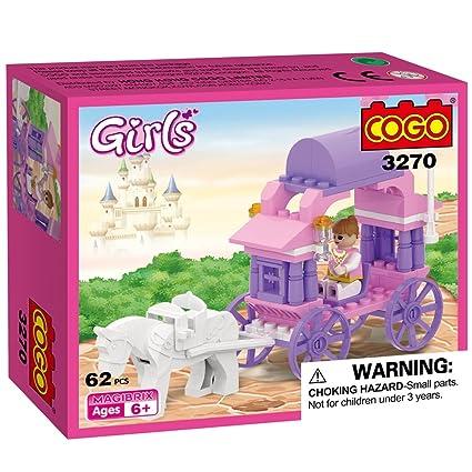 Amazon.com: cogo Transporte para la princesa juguetes para ...