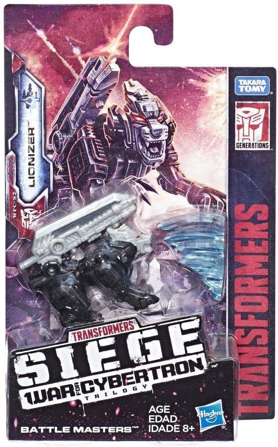 Transformers Hasbro – e3553 Generations Siege: War for Cybertron – Battle Masters – Lionizer – Figura de acción, transformable