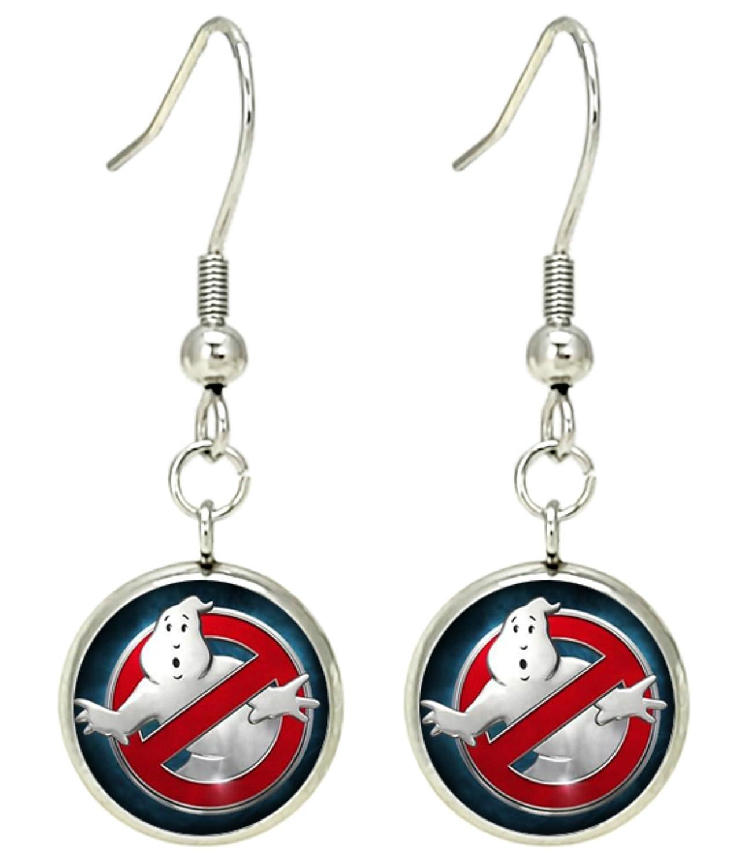 Buy Ghost Busters Dangle Earrings Movies Logo Theme Premium