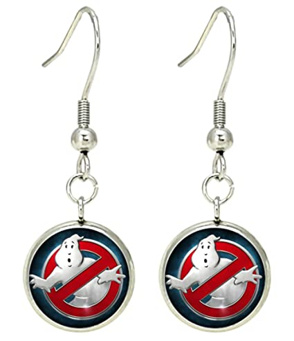 Buy Ghost Busters Dangle Earrings Movies Logo Theme Premium Quality