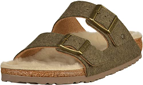 10e89b82eb1b3a BIRKENSTOCK Unisex Arizona Wollfilz normal Pantolette  Amazon.de ...