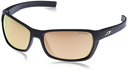 Amazon.com  Julbo Blast Sunglasses - Polarized - Matte Black Black ... f004d5d055