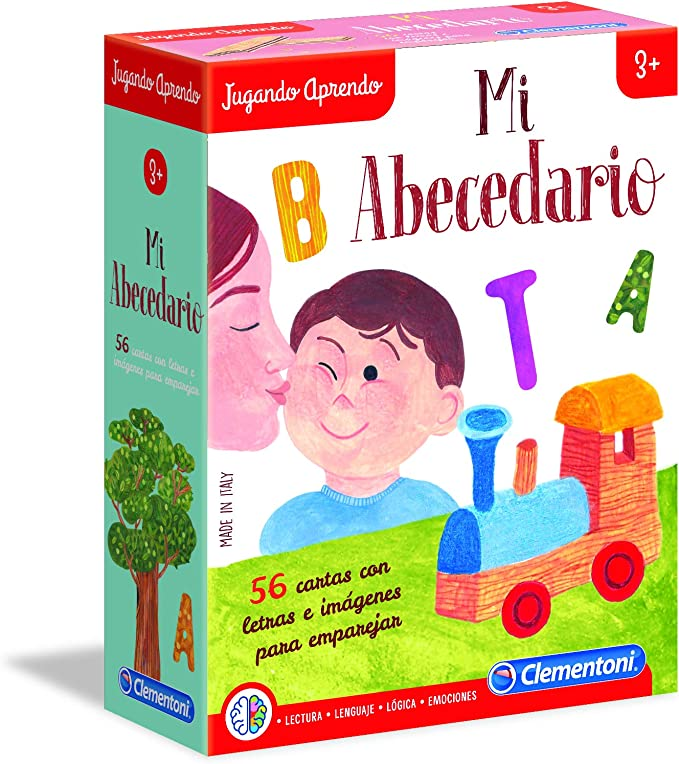 Clementoni - Mi abecedario (55315): Amazon.es: Juguetes y juegos