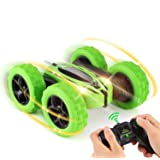 RC Cars, Remote Control Car 4WD Strong Power Double Sided 360 Rotating Tumbling Stunt Car Toy, 2.4GHz RC Truck with LED…