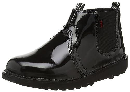 55ff4114 Kickers Girls' Kick Chels Youth Ankle Boots, (Black), 5 UK 38 EU ...