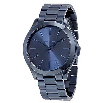 Damenuhren michael kors blau  Michael Kors Damen-Armbanduhr Analog Quarz One Size, blau, blau ...