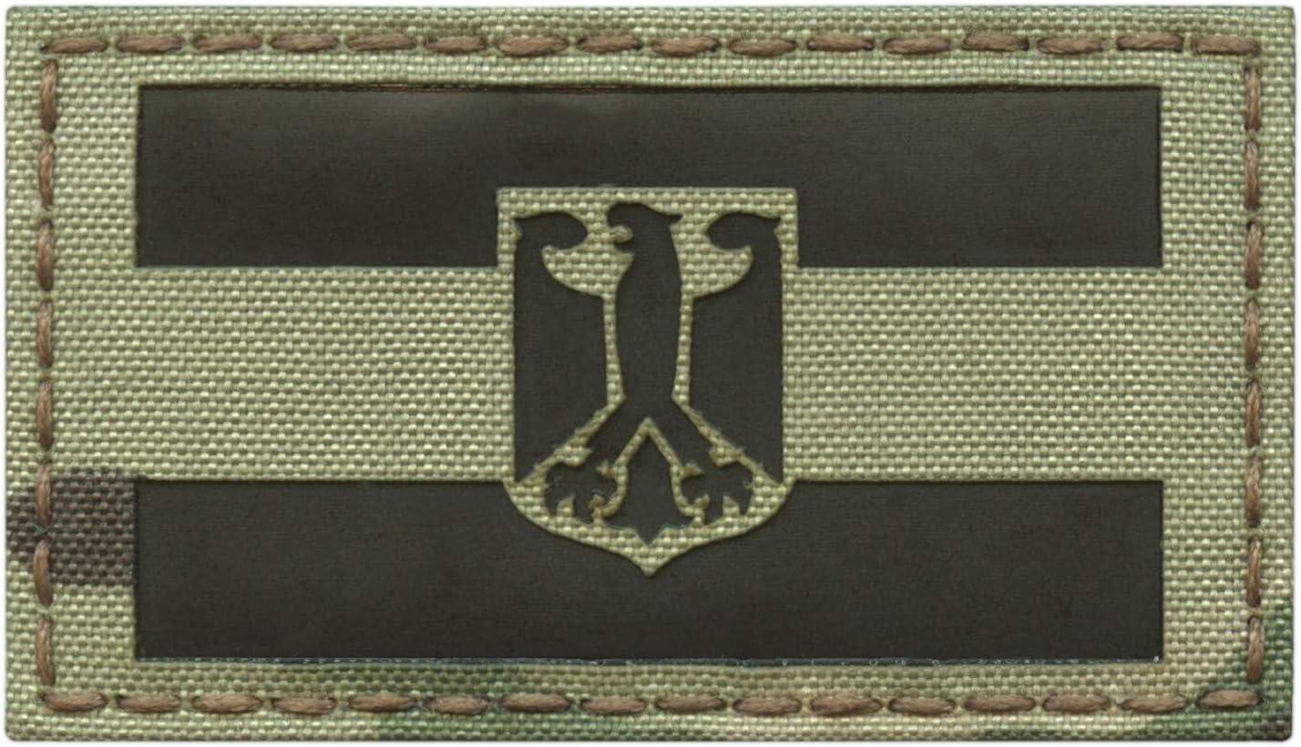 IR Germany Flag Adler Deutschland Flagge multicam tactical morale infrared patch