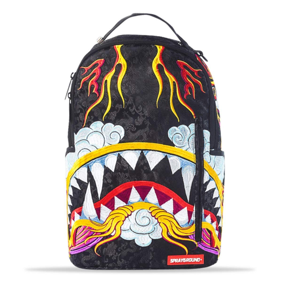 Sprayground Dragon Shark Backpack - Black