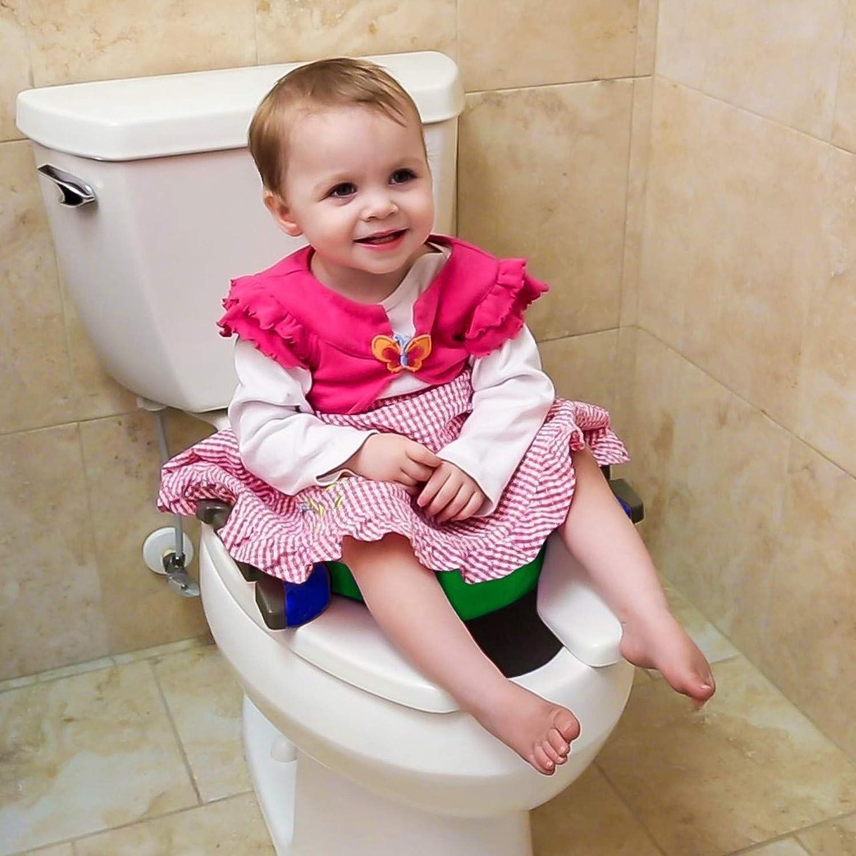 Rose Pot de voyage R/éducteur de toilettes  2 en 1  Potette Plus