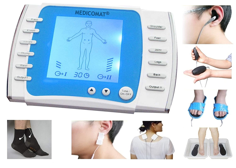 Amazon.com: Diabetic Terapia Calcetines Masajeador Medicomat-21ES Tratamiento completamente automática en el hogar Acupuntura y Terapia de Fibra de Plata ...