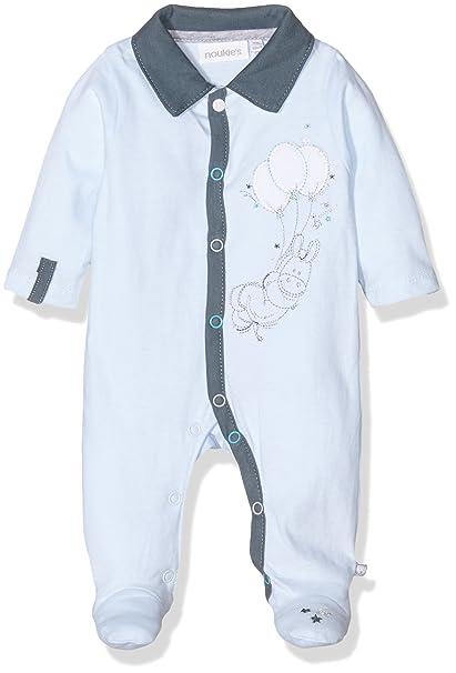 Noukies Z6801, Ropa de Bautizo para Bebés, Azul (Bleu), ...