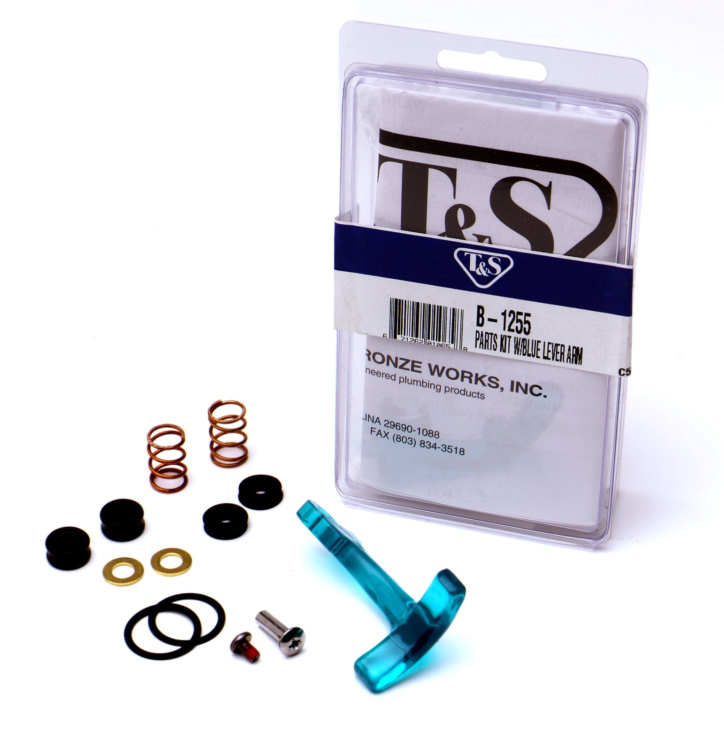 T&S Brass B-1255 Repair Kit for Old-Style Glass Filler - Dishwashers ...