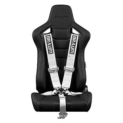 Amazon.com: um - White 5 Point 3 Inch SFI 16.1 Racing Harness ...