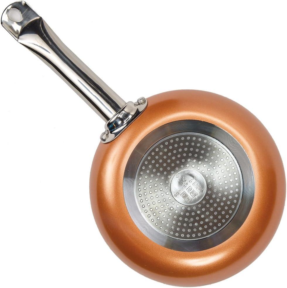 Amazon.com: Sartén de cobre redonda para Chef, juego ...