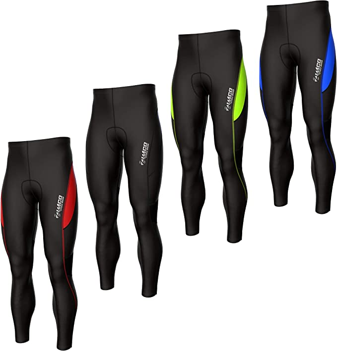 Pro Men/'s Mountain Bike Bicycle Pants 3D Padded MTB Cycling Long Tight Trousers