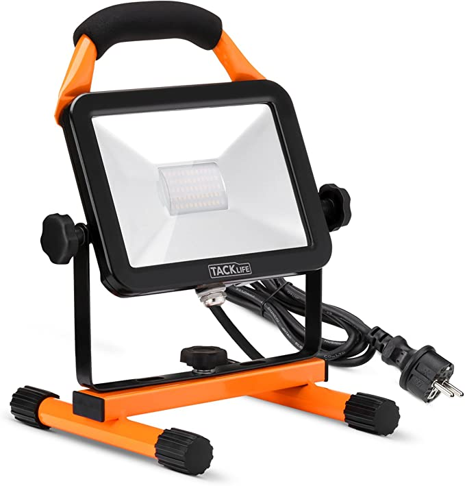 Foco LED Proyector, TACKLIFE-LED Exterior 30W 2430LM, Foco LED ...