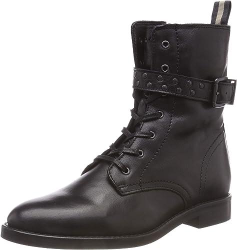 Femmes worker Boots Bottines Bottes Booties schnürboots Chaussure Lacée