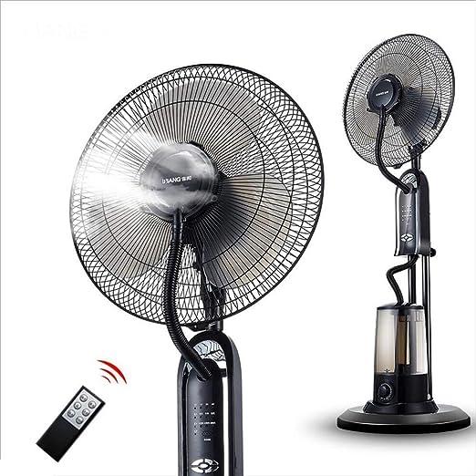 Tipo de piso Ventilador frío Inicio Ventilador de cabeza móvil silencioso Más Enfriamiento por agua y enfriamiento Ventilador anti-mosquito atomizador A + (Color : 1#): Amazon.es: Hogar