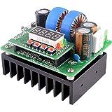 DC Boost Converter, Quimat Digital Control DC 400W 10-40V bis 8-80V Set Spannungsregler mit LED Display Netzteil