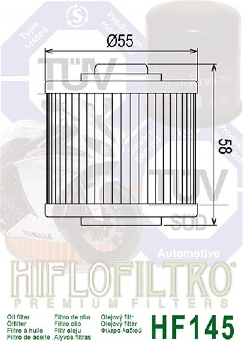Filtro olio Hiflo per moto Yamaha 750 Xtz Super Tenere 1989-1998