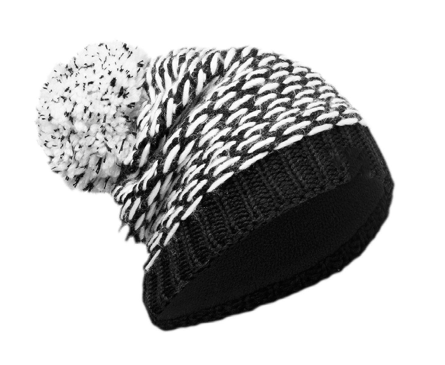 snfgoij Herren Hüte Ski Caps Winter Russische Leder Bomber Hut Fleece Caps Outdoor Ski Windschutz Stricken Hüte Lätzchen