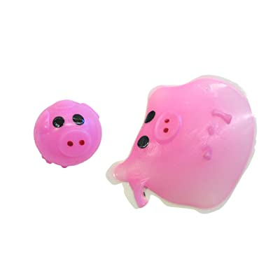 Splat Ball - Pig - Assorted Colors by Hayes: Toys & Games
